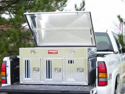 Dog Box *ALL* Hunter Series Triple Compartment with Top