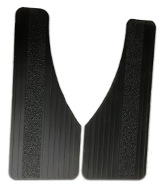 Owens Products 86RF101S Custom Fit Classic Series Dually Rubber Mudflaps